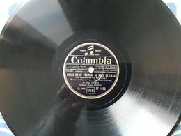 """""""Quand On Se Promène Au Bord De L'eau/Qu'est-c'que Tu Dis D'ca"""" - 78 Rpm - Gramophone Records"""