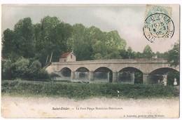 MOESLAINS . HOERICOURT . St DIZIER  52  Le Pont Péage ( Colorisée )1905 - Frankrijk