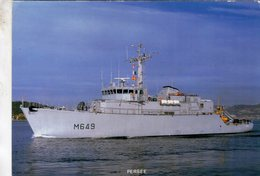 Marine Militaire  -  Chasseur De Mines 'PERSEE'  -  Marius Bar Carte Postale - Guerre