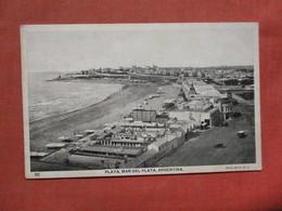 Playa Mar Del Plata  Argentina  Ref 3769 - Argentina