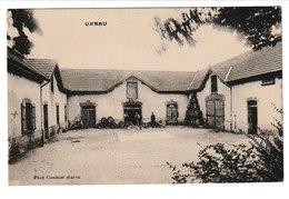 Saône Et Loire UXEAU (cour De Ferme) - Autres Communes