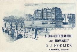Stoom Koffie Branderij Hooijer Arnhem Hollande Pays Bas Amstel Hotel Amsterdam - Té & Café