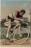LES CHAMPIONS CYCLISTES  ............  GÉRARD SAINT - Wielrennen