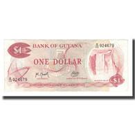Billet, Guyana, 1 Dollar, Undated (1966-92), KM:21g, NEUF - Guyana
