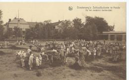 Kalmthout - Heide - Diesterweg's Schoolkolonie Te Heide - Op Het Zandplein (achterzijde) - Kalmthout