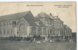 """Kampthout -Heide-Calmpthout - Schoolvilla """"Diesterweg""""- Aan 't Hofwerk - F. Hoelen, Phot, Cappellen - 1908 - Kalmthout"""