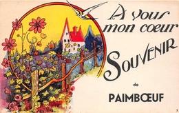 ¤¤   -   PAIMBOEUF   -  A Vous Mon Coeur  -  Souvenir De .............    -  ¤¤ - Paimboeuf