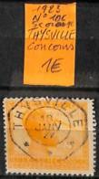 [835984]TB//O/Used-Congo Belge 1923 - N° 106, 5c Orange, THYSVILLE, Concours - Belgisch-Kongo