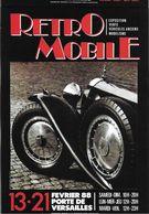 ÉVÉNEMENT EXPOSITION MANIFESTATION RETROMOBILE  AUTO VÉHICULES ANCIENS PARIS 1988 BUGATTI ROYALE LIMOUSINE PARK WARD - Exhibitions