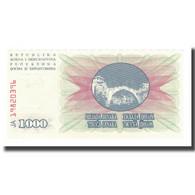 Billet, Bosnia - Herzegovina, 1000 Dinara, 1992, 1992-07-01, KM:15a, NEUF - Bosnie-Herzegovine