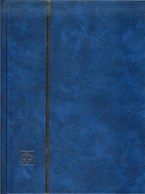 LEUCHTTURM - CLASSEUR LKZS 4/8 (16 Pages Fond Noir), Couverture De Couleur Bleue - Albums à Bandes