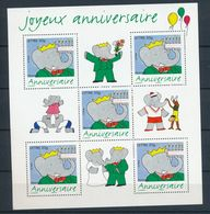 2006 France Bloc Feuillet N°100 Timbre Pour Anniversaires 75 Ans De Babar YB100 - Blocchi & Foglietti
