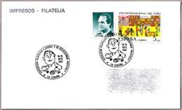Matasellos EXP.FCA JUVENIL Y DE COLECCIONES INEDITAS. La Coruña, Galicia, 1987 - 1931-Hoy: 2ª República - ... Juan Carlos I