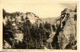 CPA - CREMIEU - GORGES DE LA FUSA (COLONIE ST-DOMINIQUE DE PARIS) - Crémieu
