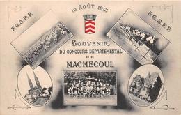 ¤¤   -   MACHECOUL   -  Souvenir Du Concour Départemental En 1913  -  Gymnastique  -  Multivues   -  ¤¤ - Machecoul