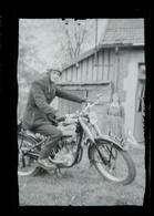 Negatif Photo Ancienne - Moto - Automobiles