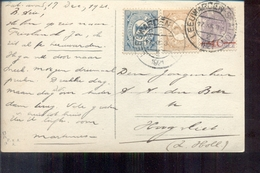 Leeuwarden - Mengfrankering - 1921 - Postal Stationery