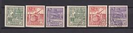 Provinz Sachsen - 1946 - Michel Nr. 87/89 B - Postfrisch/Gest. - 70 Euro - Sowjetische Zone (SBZ)