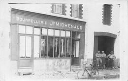 """MACHECOUL - Carte-Photo De La Bourrellerie """"Joseph MICHENAUD"""" - Actuellement """"Ambulance VILAIN"""" Rue Des Capucins - Machecoul"""