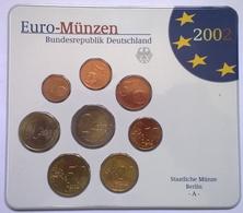 COFFRET BU - ALLEMAGNE - 2002 A - 1cts à 2€ (8 Pièces) - Duitsland