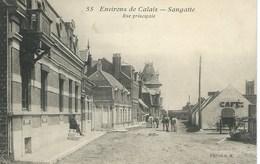 Sangatte -  Rue Principale - Sangatte