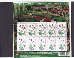 GENTSE FLORALIEN   4000*4001  COTE 60€ - Full Sheets