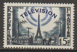 """FRANCE : N° 1022 Oblitéré """"beau TàD"""" (La Télévision) - PRIX FIXE : 1/3 De La Cote - - France"""