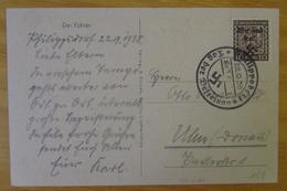 AK Adolf Hitler Der Führer Böhmen U.Mähren Philippsdorf 22.9.38 Tag Der Befreiung - Covers & Documents