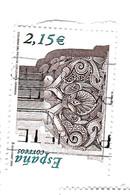 2,15 Euros - Ornement - 2001-10 Oblitérés