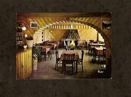 CP . 74 . LES LINDARETS . MONTRIOND . INTERIEUR DU BAR RESTAURANT LES RHODOS - Restaurants