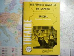 L'Avant-Scène Théâtre N°double 409-410 Les Femmes Savantes Spécial Comédie Française / Un Caprice - Livres, BD, Revues