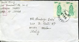 49742  China Taiwan,circuled Cover 1976 From Taipei To  Italy - Covers & Documents