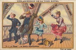 Chromo Liebig Ascension De La Tour Eiffel - Liebig