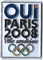 JO AUTRES - JA14 - OUI PARIS 2008 - VILLE CANDIDATE - Verso : SM - Jeux Olympiques