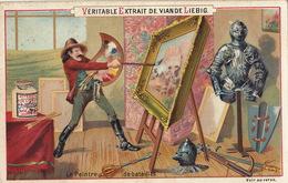 Chromo Liebig Le Peintre Des Batailles - Liebig