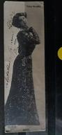 N°272)  CPA DE PARIS-1/2 CARTE-FOLIES BERGERES-OTERO - Parchi, Giardini
