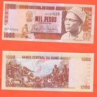 Guinea Bissau Guinè 1000 PESOS 1993 A. Cabral - Guinee-Bissau