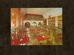 CP . 73 . AIX LES BAINS . LE REVARD . BRASSERIE DU TELEPHERIQUE AU REVARD . LA SALLE DU RESTAURANT - Restaurants