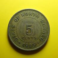 British North Borneo 5 Cents 1903 - Kolonies