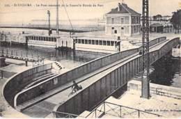 44 - SAINT NAZAIRE : Le Pont Tournant De La Nouvelle Entrée Du Port - CPA - Loire Atlantique - Saint Nazaire