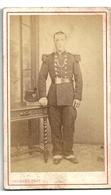 Photo CDV Soldat Second Empire Gaumont Photographe Roanne - Oorlog, Militair