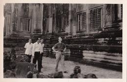 Carte Postale Photo Angkor Cambodge Visite Officielle - Cambodge