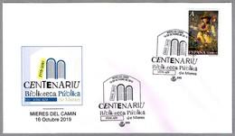 100 Años BIBLIOTECA PUBLICA - 100 Years Public Library. Mieres Del Camin, Asturias, 2019 - Otros