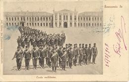TURQUIE - Costantinople - Carte Militaire - Tampon BROUSSE - Régiments