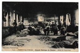 Saône Et Loire PERRECY LES FORGES Grande Fabrique De Chaises Atelier De Préparation - Otros Municipios