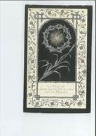 ZUSTER VICTORIA = M JOANNA DE BACKER ° HAALTERT 1847 KLOOSTER MARICOLLEN TE MECHELEN + 1894 GEDRUKT TE GERAARDSBERGEN - Images Religieuses
