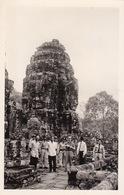 Carte Postale Photo Angkor Cambodge Visite Officielle - Camboya
