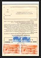 54222 Malaunay Seine-Maritime Poste Aérienne PA N°58 HYDRAVION Airmail Ordre De Reexpedition Definitif France - 1960-.... Covers & Documents