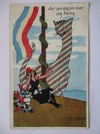 Frankreich, Auf Den Rausch Folgt Der Kater, Künstlerkarte Sig.  Zelger (37201) - Weltkrieg 1914-18