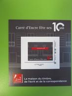 Mini Collector - Le Carré D'Encre Fête Ses 10 Ans - La Poste - 2019 - Lettre Verte - NEUF - France